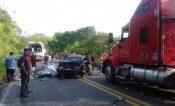 Carambola en carretera Papantla-Gutiérrez Zamora deja 2 heridos