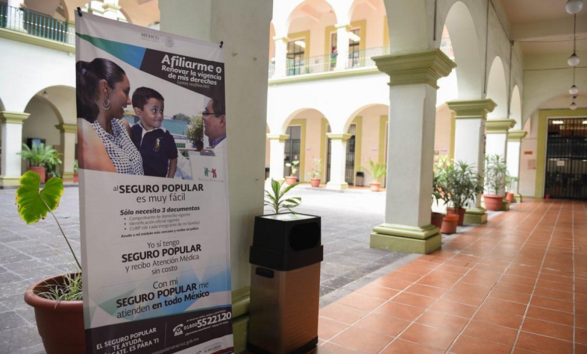 Módulo De Afiliación A Seguro Popular En Palacio Municipal