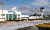 Aterriza de emergencia aeronave privada en Minatitlán