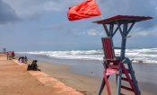 Cambia PC bandera amarilla a roja en zona costera de Coatzacoalcos