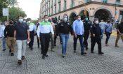 Supervisa SSP operativo Fiestas Patrias en Xalapa